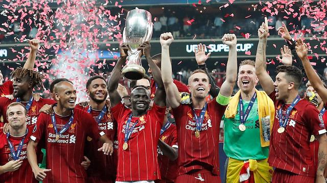 Süper kupa 4. kez Liverpool'un