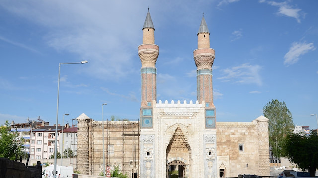 Sivas'taki 'Gök Medrese' müzeye dönüştürülüyor