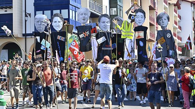 Gösterilerin gölgesinde: Fransa'daki G7 Zirvesi'nde neler konuşulacak?