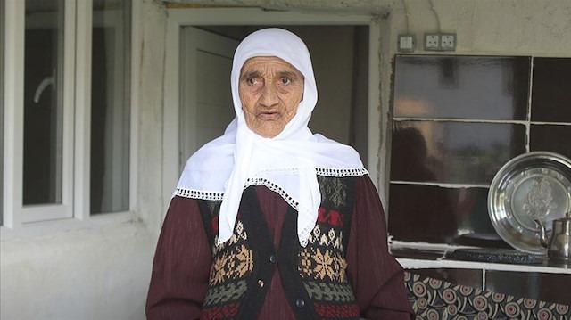 105 yaşındaki Dilber Nine uzun ömrünün sırrını açıkladı