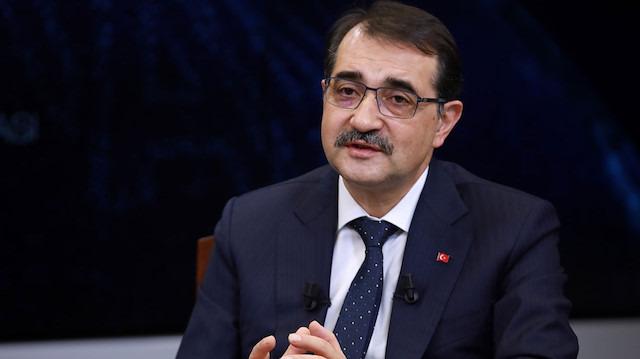 Enerji ve Tabii Kaynaklar Bakanı: Doğu Akdeniz'deki davamızdan geri dönmeyeceğiz