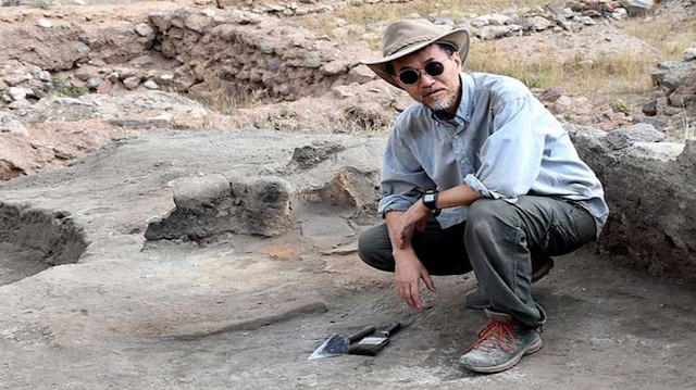 Japon arkeoloğun Türkiye sevdası: Ülkeme döndüğümde gurbette hissediyorum