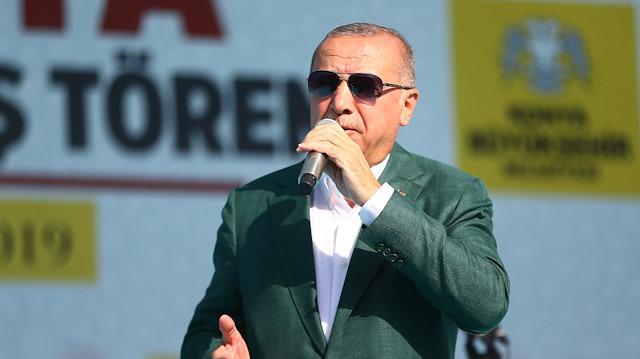 Cumhurbaşkanı Erdoğan: Konya metrosunun yapımına başlıyoruz