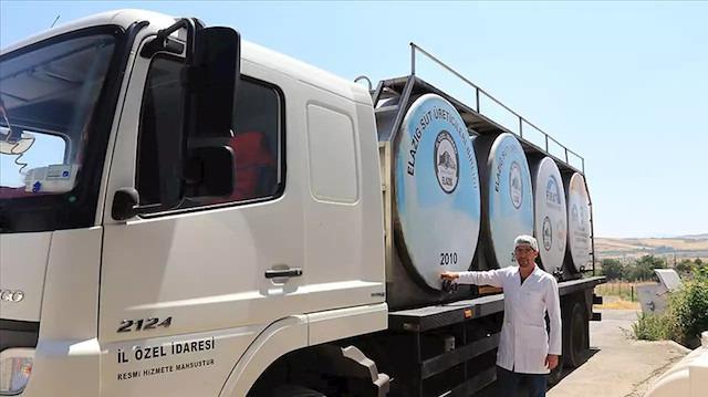 20 tona yakın süt işletiyorlar: 700 aile ekmek yiyor