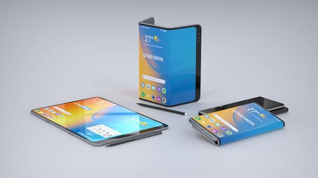 Galaxy Fold ve Mate X'e rakip geliyor: LG'nin katlanabilir telefon patenti detaylandı