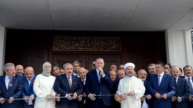 Abdülhakim Sancak Camii açıldı