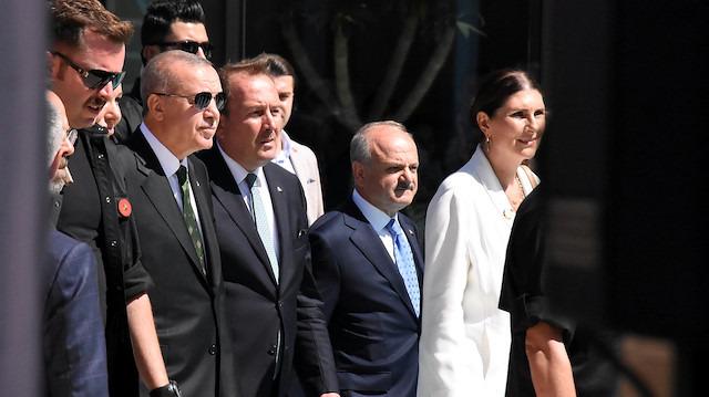 Cumhurbaşkanı Erdoğan: Kütüphane 29 Ekim'de açılıyor