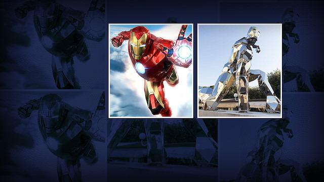 İtalya'nın Iron Man sevgisi: 'Heykeli dikildi'