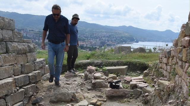 Tieion Antik Kenti'ndeki kazılarda 'demir ocağı' bulundu