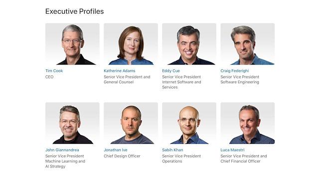Rapor: Eski yönetici, Apple'daki üst düzey kişilerin yeterli olmadığını savunuyor