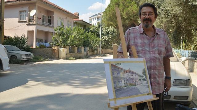 Mimar Orhan Güler 128 tablodan oluşan bir kent arşivi yaptı