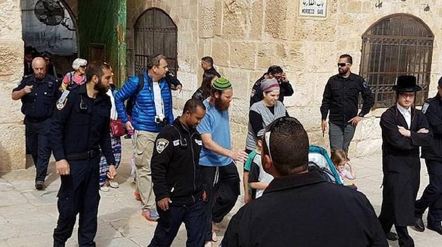 İsrailli eski Bakan'dan Mescid-i Aksa'ya baskın