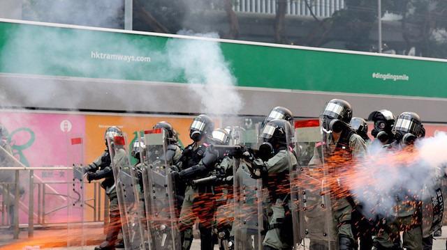 4 aydır bitmeyen eylem: Hong Kong yine karıştı