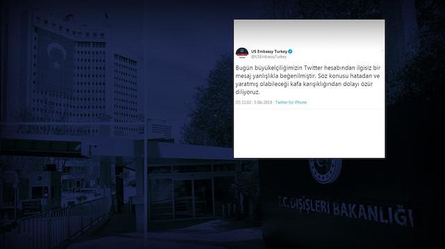 ABD Ankara Büyükelçiliği'nin 'skandal' beğenisi hakkında ne biliyoruz?