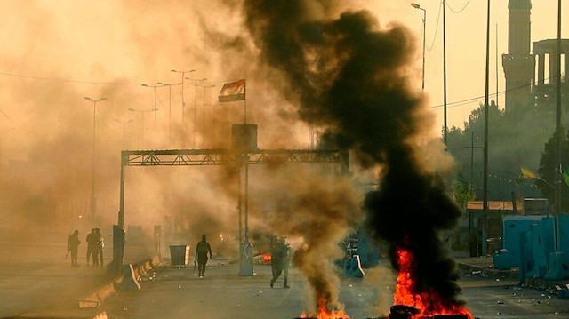 İran'dan Irak'taki göstericilere çağrı