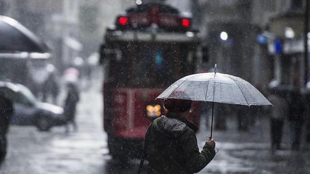 Meteoroloji uyardı: İstanbul'da kuvvetli yağış bekleniyor
