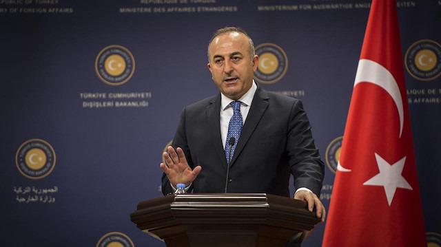 Bakan Çavuşoğlu'ndan harekatla ilgili açıklama