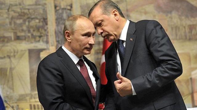 Cumhurbaşkanı Erdoğan, harekatla ilgili Rusya Başkanı Putin'le görüştü