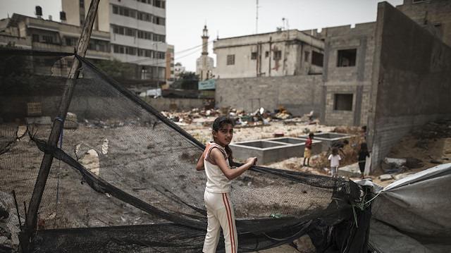 Gazze tarihte hiç olmadığı kadar sıkıntıda