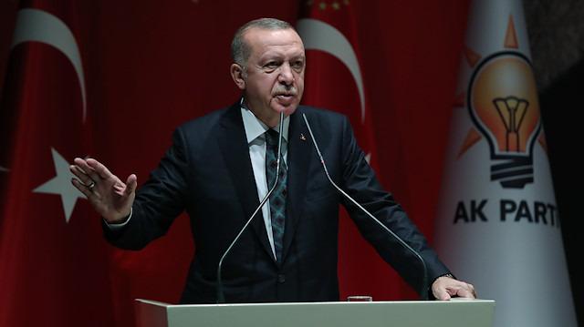 Erdoğan, Barış Pınarı Harekatı'nda öldürülen terörist sayısını açıkladı