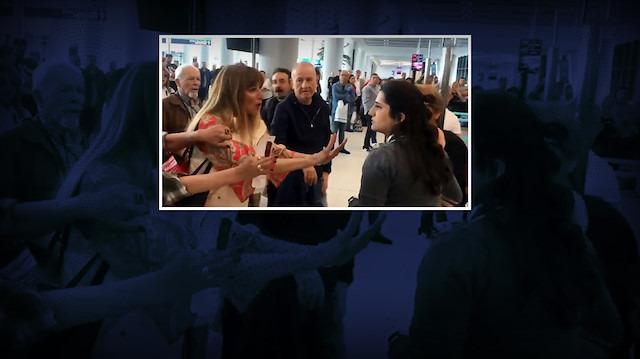 Havalimanı çalışanına hakaret davasında karar verildi