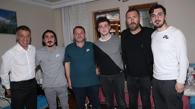 Ahmet Ağaoğlu, Abdülkadir'i evinde ziyaret etti