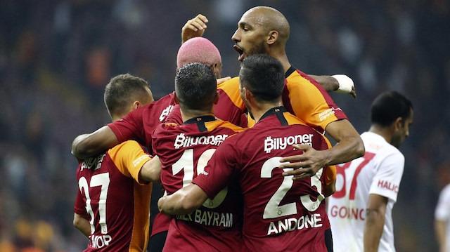 Gol düellosunda kazanan Galatasaray