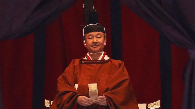 Japonya'nın 126. imparatoru tahta çıktı