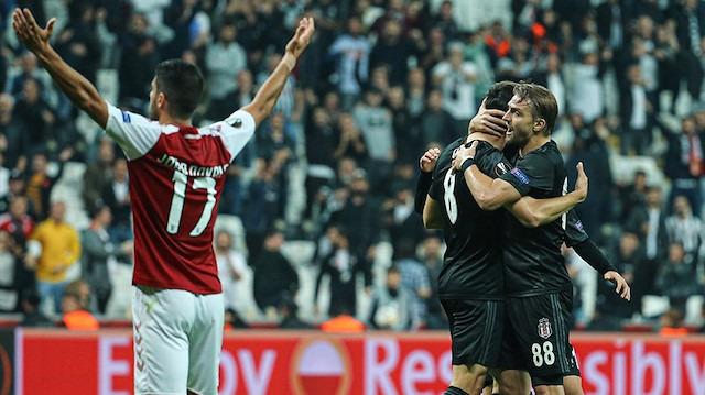 Beşiktaş, Braga deplasmanında