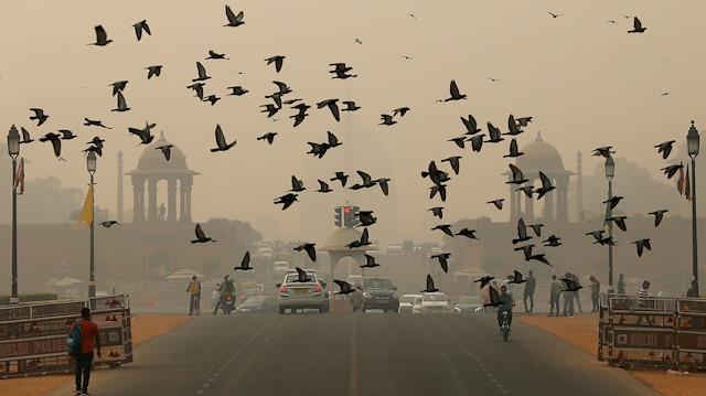 Yeni Delhi halkı 'nefes' almak istiyor