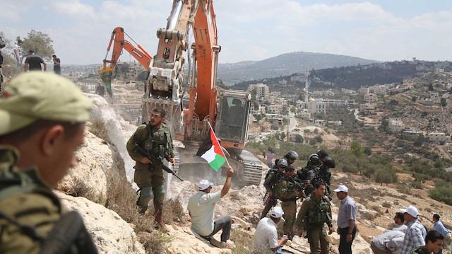 Yahudi yerleşimleri ilahi vaadin gerçekleşmesidir