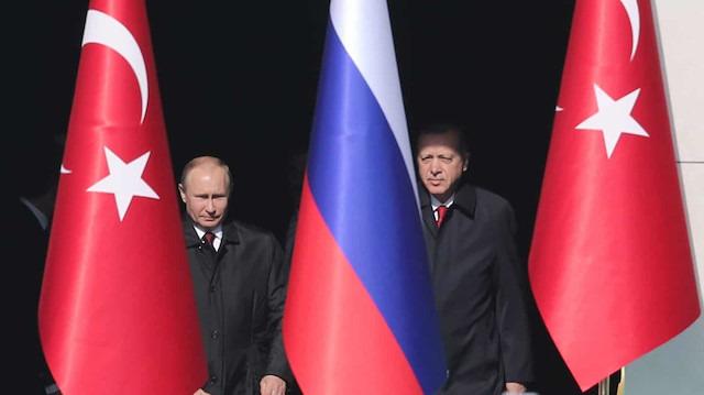 Cumhurbaşkanı Erdoğan ile Putin 8'inci kez telefonda görüştü