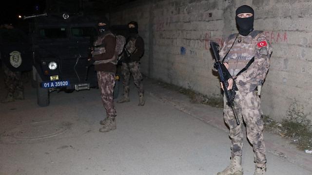 Adana'da şafak vakti operasyon: Eylem hazırlığındaki 4 kardeşe gözaltı