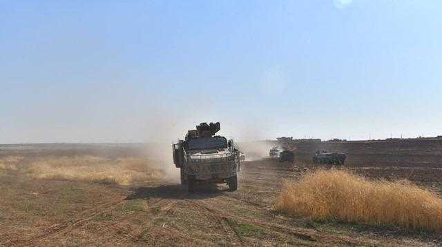 Türkiye ve Rusya'nın 9. ortak kara devriyesi tamamlandı