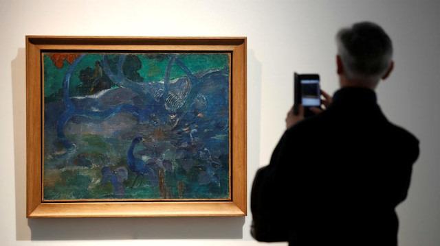 Fiyatı dudak uçuklattı: Ünlü ressamın tablosu gizemli koleksiyoncuya satıldı
