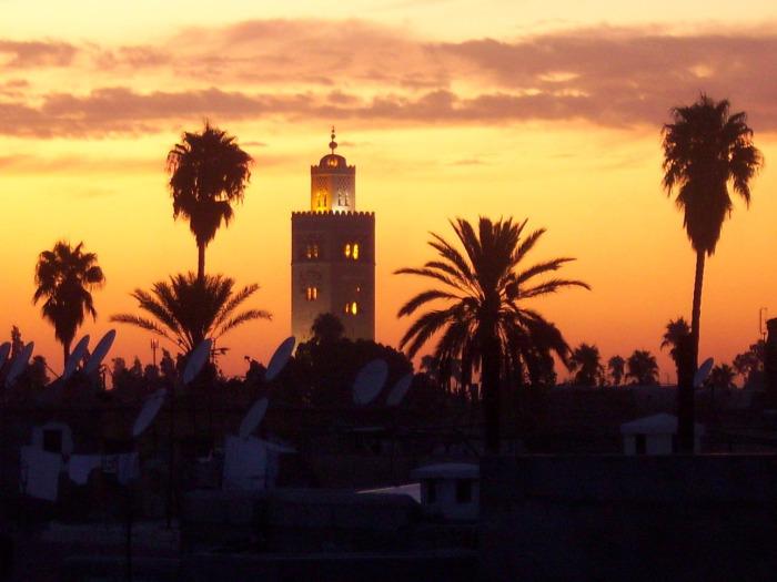 Minaresine atla çıkılan cami