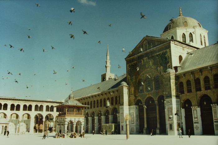 """""""Şam'daki Emevi Camii yıkıldı"""""""