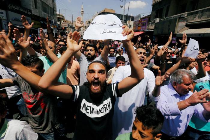 Ürdün'de tansiyon düşmüyor