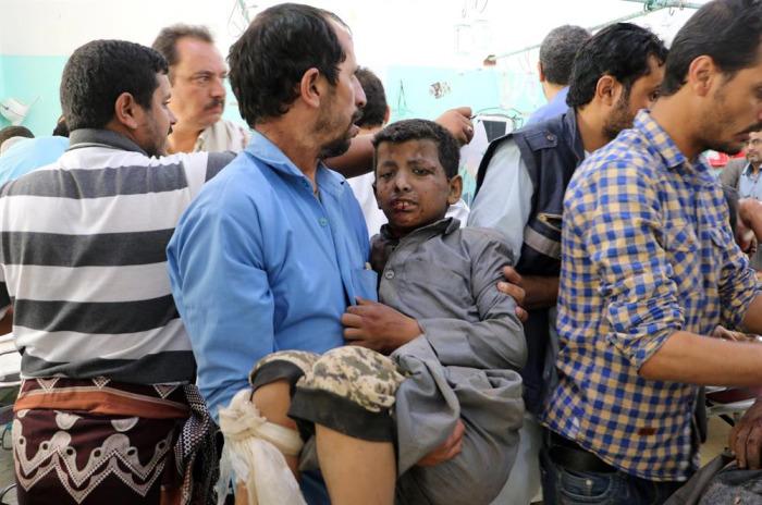 Yemen'de çocukları taşıyan otobüse saldırı: 50 ölü