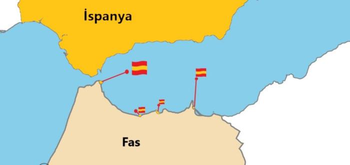 Fas'taki İspanyol varlığı