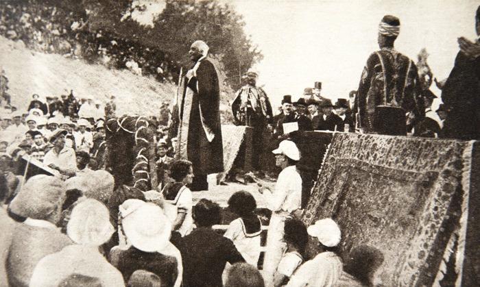 James Balfour'un 'zafer' konuşması