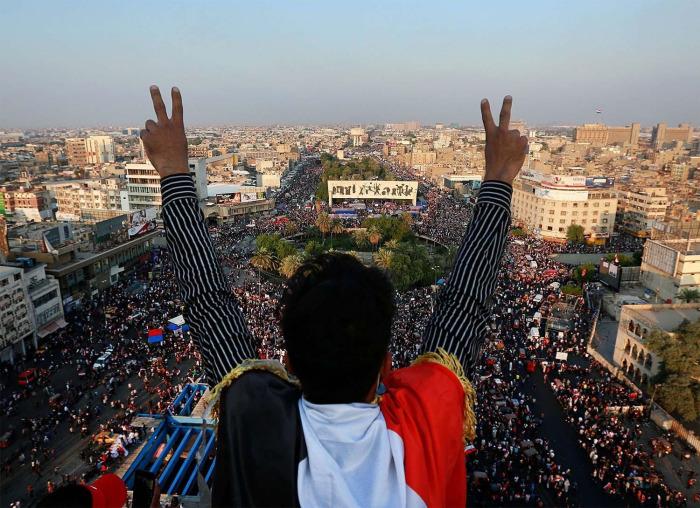 Irak'ta ölü sayısı 250 oldu: Öğrenciler de gösterilerde