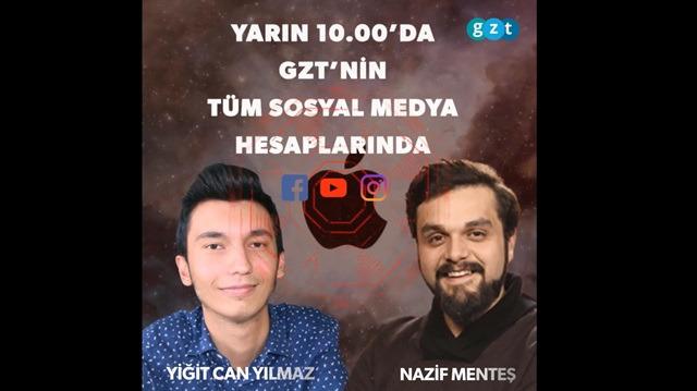 Apple'ın açıklarını Kahramanmaraş'tan bulan Yiğit Can Yılmaz GZT.com'da!
