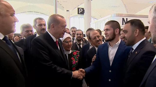 İstanbul Yeni Havalimanı açılışında bir dünya şampiyonu