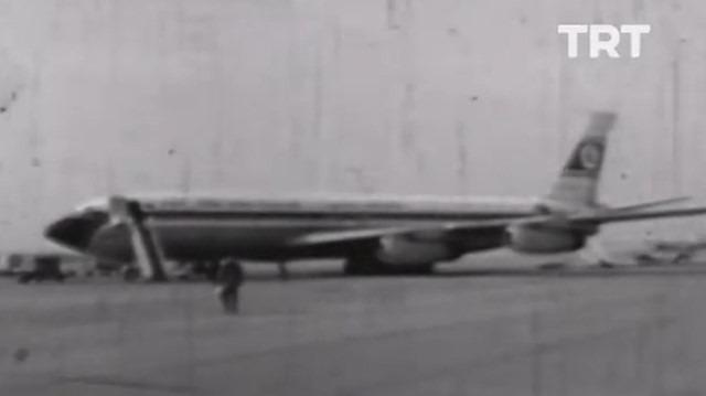 1972 yılında THY ve Pilotluk