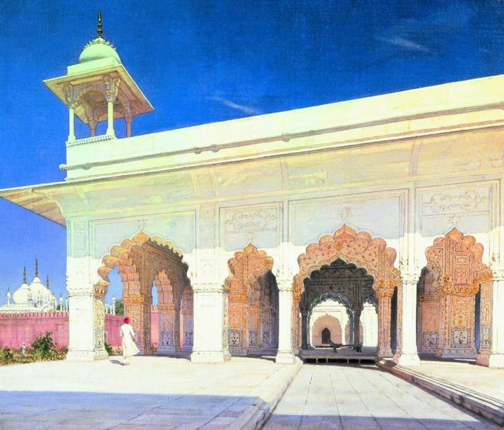 Mirza Galib, dönemin sanat merkezi olan Delhi'ye taşındıktan sonra edebiyat dünyasında adını duyurmaya başladı.