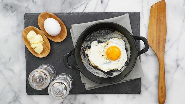 Sahanda yumurta nasıl yapılır?