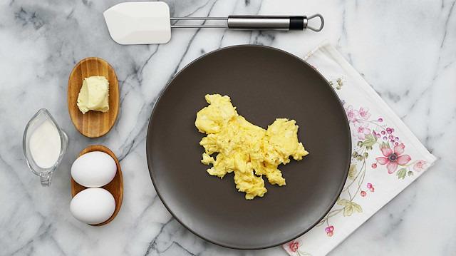 Çırpılmış yumurta nasıl yapılır?