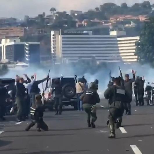 Venezuela'da tehlikeli gerginlik sürüyor: Taraflar arasında çatışma çıktı