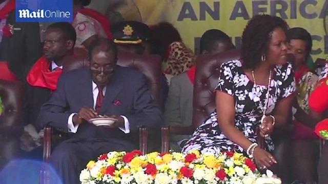 Zimbabwe cumhurbaşkanının doğum günü tartışma yarattı